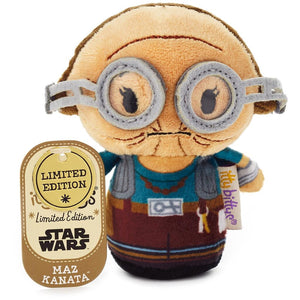 Hallmark Star Wars Maz Kanata Limited Itty Bittys Plush New with Tag