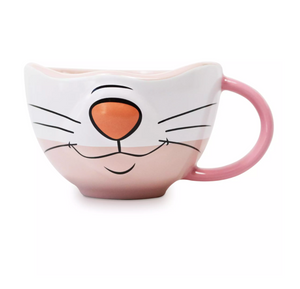 Disney Parks Marie the Cat Half Face Ceramic Mug Cup The Aristocats New