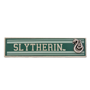 Universal Studios Harry Potter Slytherin Banner Pin New with Card