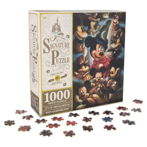 Disney Parks Signature Puzzle 90th Mickey Mouse Sorcerer 1000 pcs Puzzle New