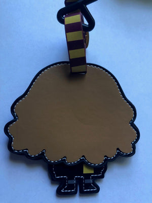 Universal Studios Wizarding World of Harry Potter Hermione Luggage Tag New