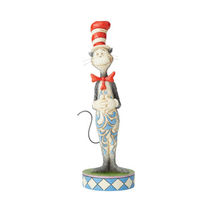 The Cat in the Hat Dr. Seuss Jim Shore Figurine New with Box