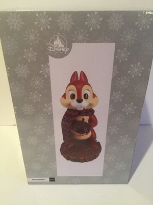 Disney Parks Chip with Acorns Christmas Nutcracker New with Box
