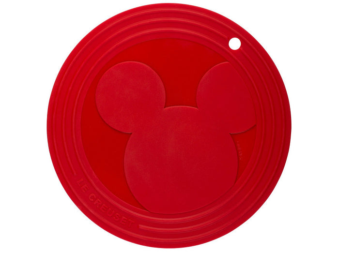 Disney Mickey Mouse Icon Silicone Trivet Le Creuset New with Tags