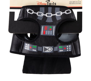 Disney Tails Dog Harness Star Wars Darth Vader Size Small New with Card