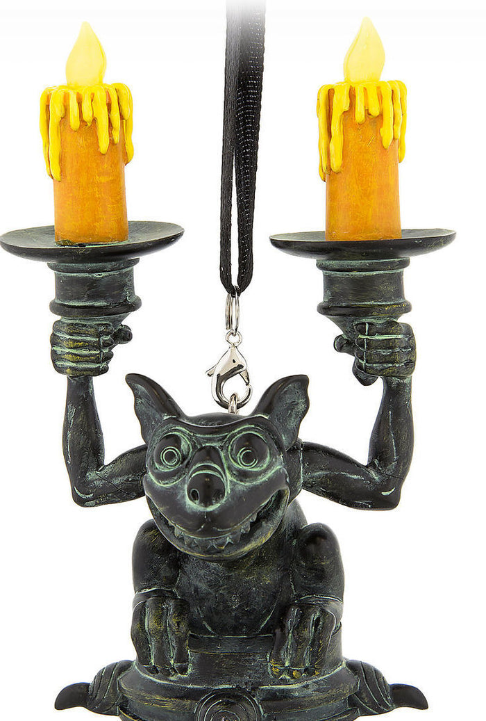 Disney Parks Haunted Mansion Gargoyle Light Up Ornament New with Tags