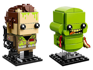 Lego Ghostbusters 41622 BrickHeadz Peter Venkman and Slimer 228 Pieces New with Box