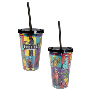 Universal Studios Monsters Tumbler 16 oz New