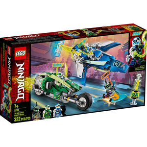 Lego 71709 NINJAGO Jay and Lloyd's Velocity Racers Building Kit New with Box