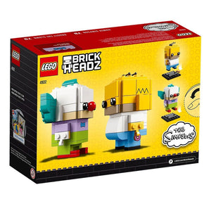 Lego 41632 BrickHeadz Homer Simpson and Krusty the Clown New with Box