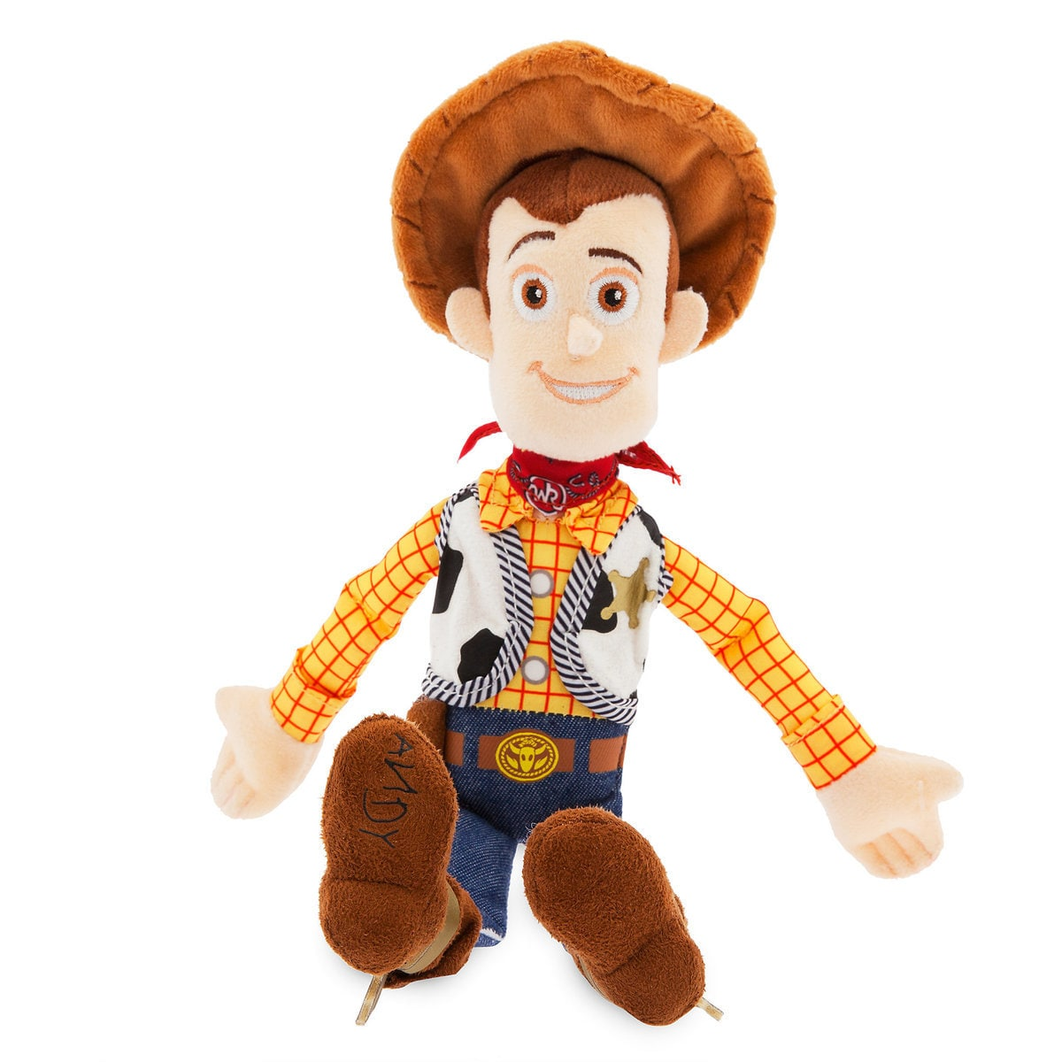 Disney Toy Story 4 Woody Mini Bean Bag Plush New With Tags