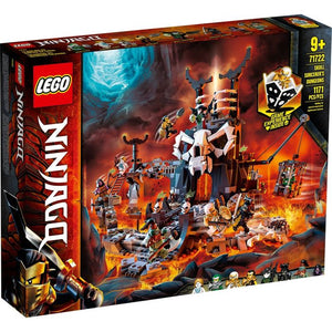 Lego 71722 NINJAGO Skull Sorcerer's Dungeons Building Toy New with Sealed Box