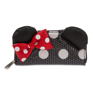 Disney Parks Minnie Mouse Sequined Wallet by Loungefly New with Tags
