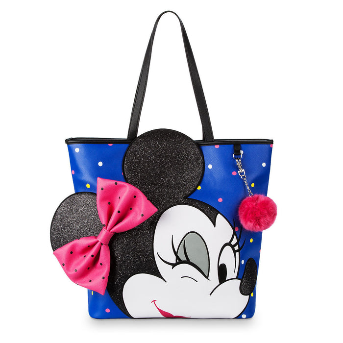 Disney Parks Minnie Mouse Tote by Loungefly Polka Dot New