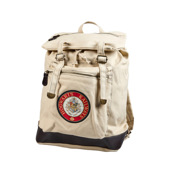 Universal Studios Harry Potter Hogwarts Railways Canvas Backpack New with tags