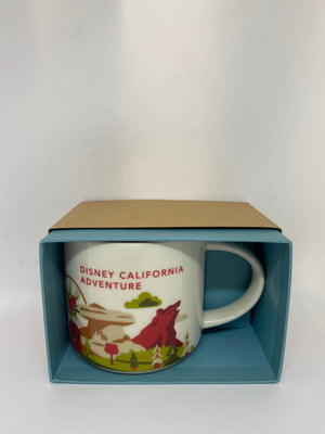 Starbucks You Are Here Disney California Adventure Coffee Mug New with Box