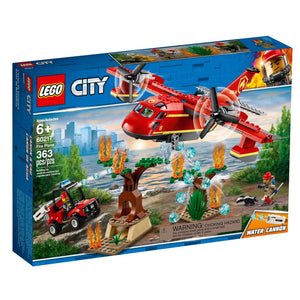Lego 60217 City Fire Plane Playset Building Set New with Sealed Box