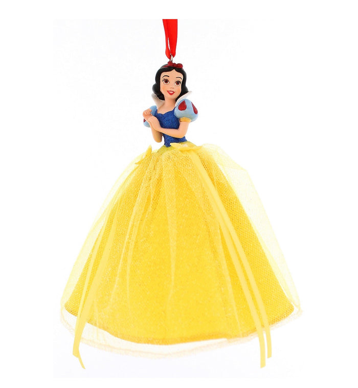 disney parks princess snow white tulle christmas ornament new with tag