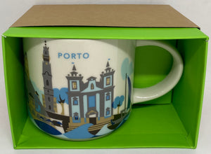 Starbucks Coffee You Are Here Collection Porto Portugal Ceramic Coffee Mug New