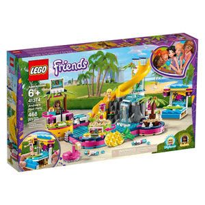 Lego 41374 Friends Andrea's Pool Party Building Kit New with Sealed Box