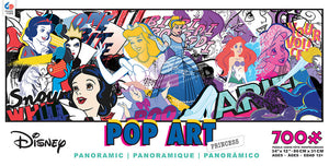 Disney Ceaco Panoramic Pop Art Princess 700 Pcs Puzzle New with Box