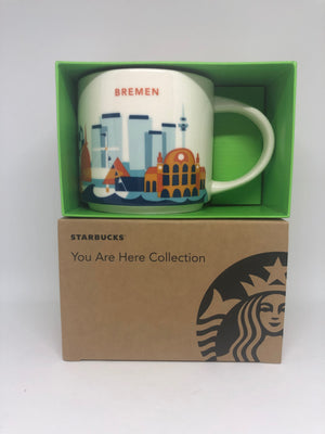 Starbucks You Are Here Collection Germany Bremen Ceramic Coffee Mug New Box
