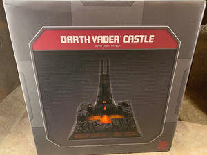 Disney Parks Star Wars Galaxy's Edge Darth Vader Castle with Light Effect New