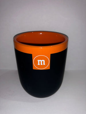 M&M's World Teacup Matte Orange New