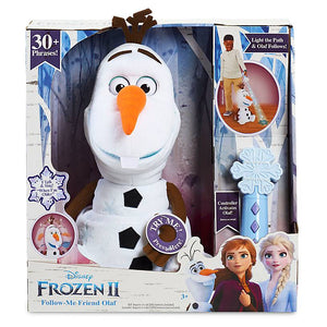 Disney Frozen 2 Olaf Plush Singing Follow Me Friend Doll New with Box