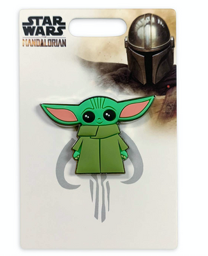 Disney Parks Star Wars Mandalorian The Child Yoda Pin New with Card