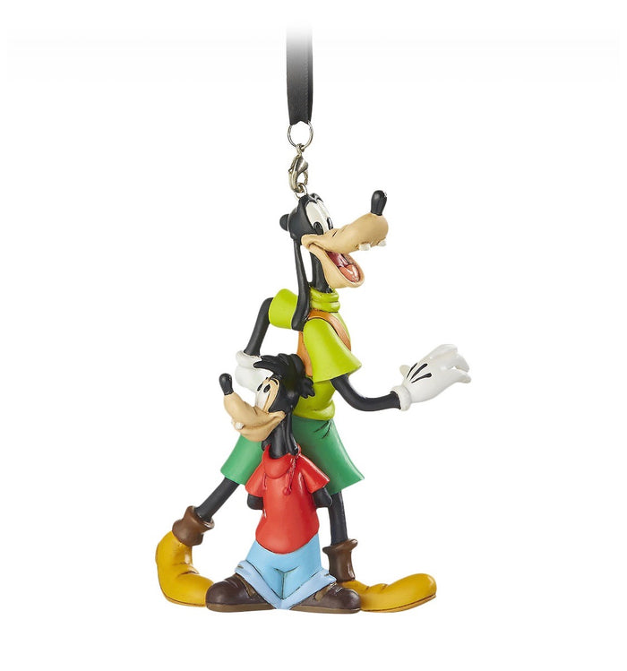 Disney Parks Goofy and Max Christmas Ornament New with Tags