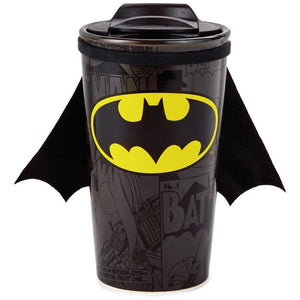 Hallmark DC Batman Travel Mug With Cape 10 oz I Love a Good Dark Roast New