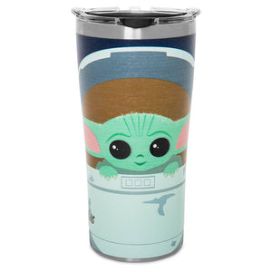Disney The Child Stainless Steel Travel Tumbler Tervis Star Wars The Mandalorian
