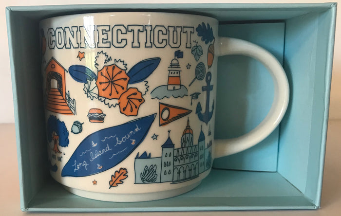 Starbucks Been There Series Collection Connecticut Coffee Mug New With Box