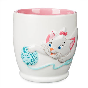Disney Aristocats Marie Pawsitively Poised Coffee Mug New