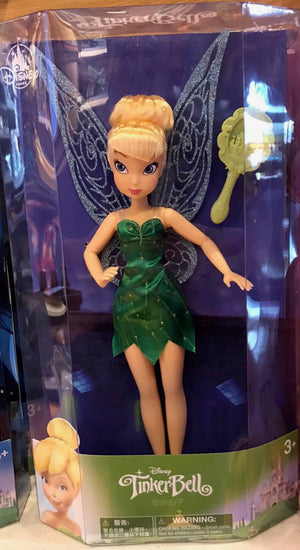 Disney Parks Tinker Bell Doll with Brush New Edition New with Box