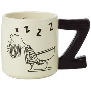 Hallmark Peanuts Peppermint Patty zzzzzz Coffee Mug New
