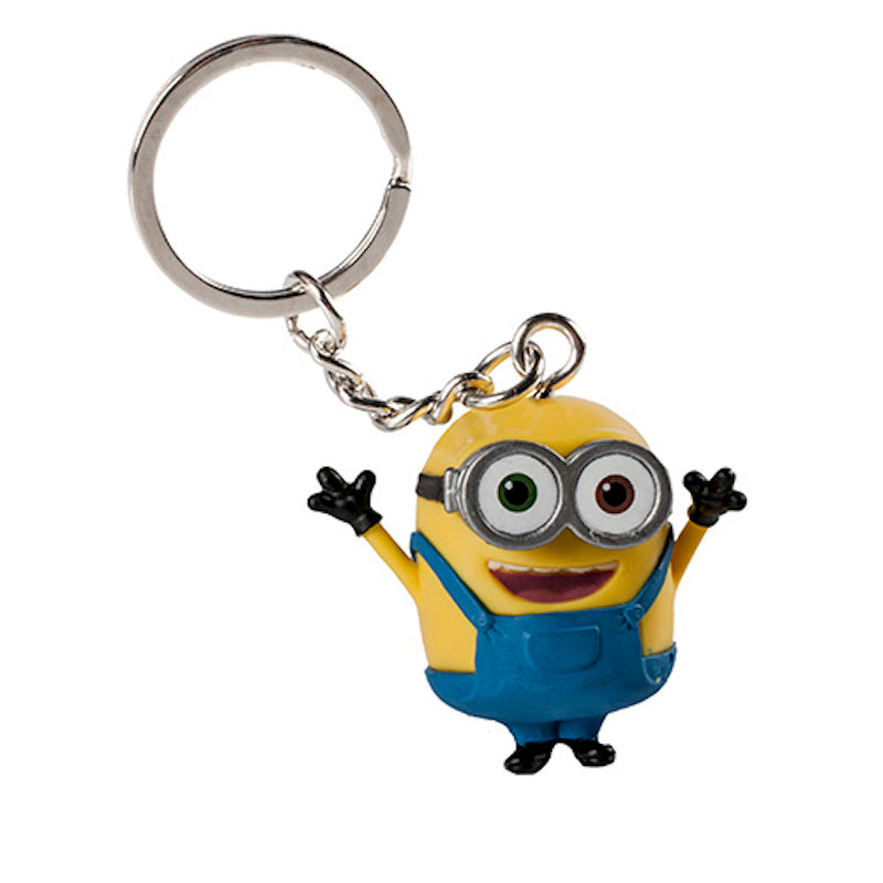 Universal Studios Despicable Me Minion Bob PVC Keychain New With Tags