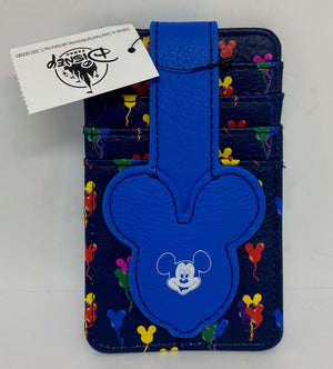 Disney Parks Mickey Mouse Icons Balloons Credit Cards Holder New with Tag