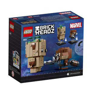 Lego 41626 BrickHeadz Marvel Avengers Groot & Rocket New with Box