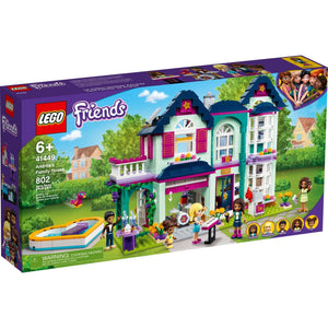 Lego 41449 Friends Andrea's Family House Building Kit New with Sealed Box