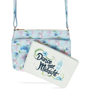 Disney Princess Mystique Cinderella Crossbody Bag and Purse Set New with Tags