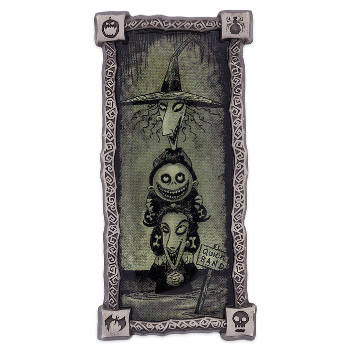 Disney Lock Shock Barrel Haunted Mansion Portrait Pin Nightmare Before Christmas