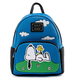 Hallmark Peanuts Snoopy Woodstock This Has Been a Good Day Mini Backpack New Tag