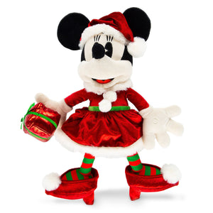Disney Parks Turn of the Century Minnie Holiday Medium Plush New with Tags