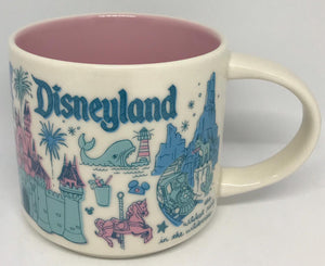 Starbucks Been There Series Coffee Mug Disneyland in California New with Box