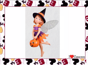 Hallmark Sweet Witch Fairy Halloween Ornament New with Box