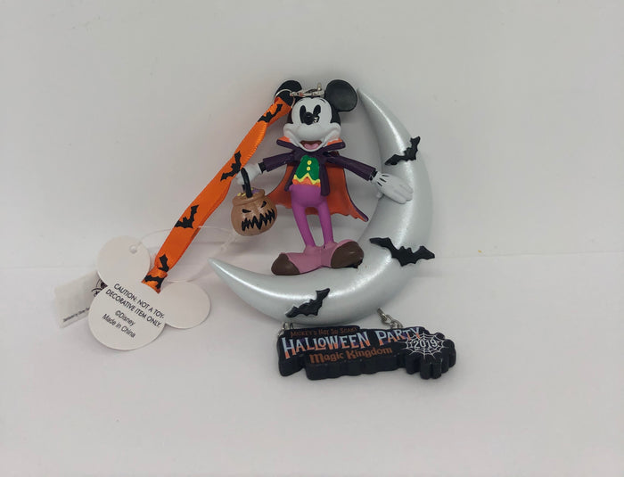 Disney Parks 2019 Mickey Not So Scary Halloween Party Ornament New with Tag