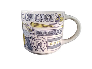 Starbucks Been There Series Collection Chicago Ceramic Coffee Mug New with Box