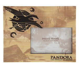 Disney Pandora the World of Avatar Banshee Wood 4x6 Picture Photo Frame New